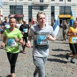 The 27th Lattelecom Riga Marathon - Elza Krastiņa (12008), Pēteris Pirogovs (12400)