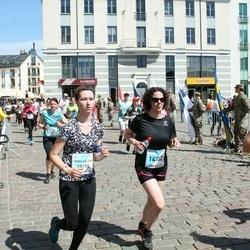 The 27th Lattelecom Riga Marathon - Emma Helēna Romančuka (10195), Baiba Jirgena (14302), Aleksandrs Abramovs (14384)