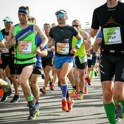 The 27th Lattelecom Riga Marathon - Kalle Lellep (635), Francesco Paez (1562)