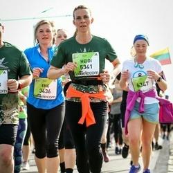 The 27th Lattelecom Riga Marathon - Ene Rõžova (3436), Heidi Budd (5341)