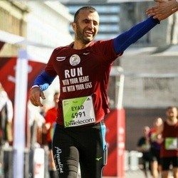 The 27th Lattelecom Riga Marathon - Eyad Salama (4991)