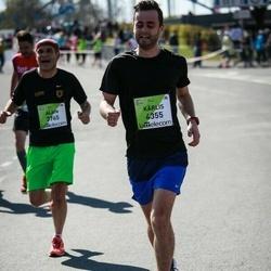 The 27th Lattelecom Riga Marathon - Alain Ferrie (3765), Kārlis Freimanis (4355)