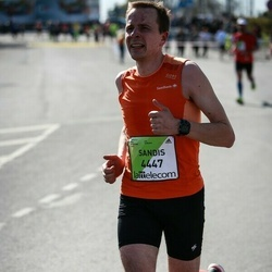 The 27th Lattelecom Riga Marathon - Sandis Pētersons (4447)