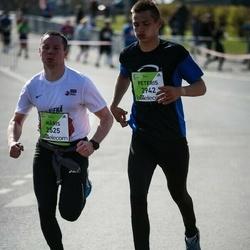 The 27th Lattelecom Riga Marathon - Māris Pilmanis (2525), Peteris Rugelis (2942)