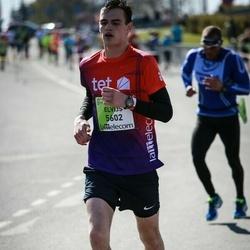 The 27th Lattelecom Riga Marathon - Elvijs Mežaleons (5602)