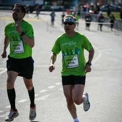 The 27th Lattelecom Riga Marathon - Andrejs Gaumigs (4596), Semen Fomichev (6600)