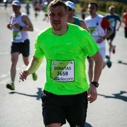 The 27th Lattelecom Riga Marathon - Donatas Tamosaitis (3658)