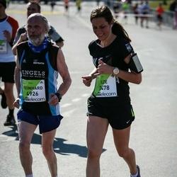 The 27th Lattelecom Riga Marathon - Ilze Vindele (3478), Reinhard Feindt (4926)