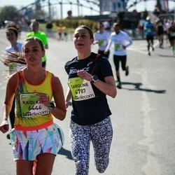 The 27th Lattelecom Riga Marathon - Caroline Fraisse (4787), Kaidi Keir Kukk (6444)