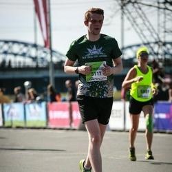 The 27th Lattelecom Riga Marathon - Heinrihs Rozēns (5117)