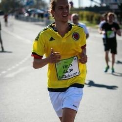 The 27th Lattelecom Riga Marathon - Felix Brohl (4636)