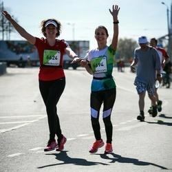 The 27th Lattelecom Riga Marathon - Anna Tsaregorodtseva (6624), Zane Mihailova (6694)