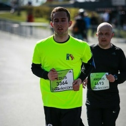 The 27th Lattelecom Riga Marathon - Edijs Skurjats (3364), Andris Trifanovs (4693)