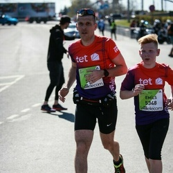 The 27th Lattelecom Riga Marathon - Aigars Slotiņš (5346), Emīls Slotiņš (5348)