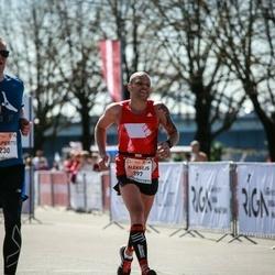 The 27th Lattelecom Riga Marathon - Visaperttu Vasala (230), Aleksejs Belokopitovs (397)