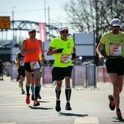 The 27th Lattelecom Riga Marathon - Algirdas Medeikis (561), Timo Saaranen (1302), Anrijs Hodžajevs (1884)