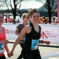 The 27th Lattelecom Riga Marathon - Santa Ulmane (13988), Anete Erta (14339)