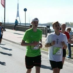 The 27th Lattelecom Riga Marathon - Jurģis Buliņš (3016), Aigars Francis (5620)