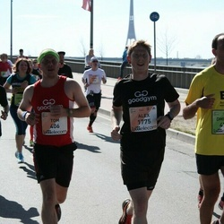 The 27th Lattelecom Riga Marathon - Tom Benson (406), Alex Tylor (1775)
