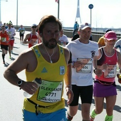 The 27th Lattelecom Riga Marathon - Alexander Volkov (1604), Oleksandr Onishchenko (4771)