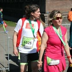 The 27th Lattelecom Riga Marathon - Aļona Arnicāne (3033), Ainārs Arnicāns (6525)
