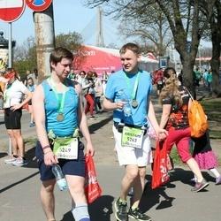 The 27th Lattelecom Riga Marathon - Agnis Svažs (5249), Kristaps Kārkls (5263)