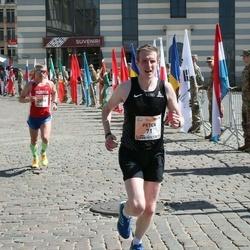 The 27th Lattelecom Riga Marathon - Peter Dimbleby (71), Alexey Belousov (2099)