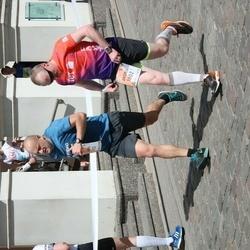 The 27th Lattelecom Riga Marathon - Ainārs Gudēvics (1313), Andris Veiss (1802)