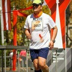 The 27th Lattelecom Riga Marathon - Alvis Tuņķelis (2057)