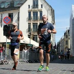 The 27th Lattelecom Riga Marathon - Valery Astrynski (1261), Andris Zuravlovs (1516)