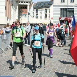The 27th Lattelecom Riga Marathon - Kaspars Klētnieks (303), Aija Dzeņkovska (304)
