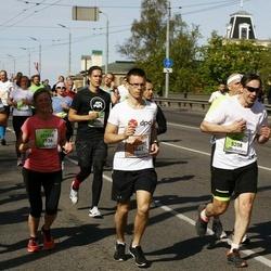 The 27th Lattelecom Riga Marathon - Kristaps Ķemme (1441), Estere Cīrule (2936), Arnis Matvejs (5208)