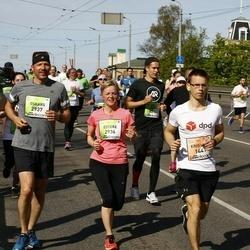 The 27th Lattelecom Riga Marathon - Kristaps Ķemme (1441), Estere Cīrule (2936), Oskars Cīrulis (2937)