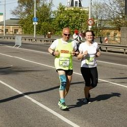 The 27th Lattelecom Riga Marathon - Mario Donato Rinaldi (4752), Alise Podniece (7048)