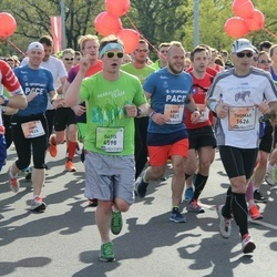 The 27th Lattelecom Riga Marathon - Thomas Kohlstrung (1626), Vytautas Barzdžius (2996), Gatis Gaumigs (4598)