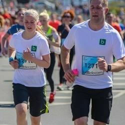 The 27th Lattelecom Riga Marathon - Edgars Policāns (12717), Alise Kaņepe (12718)