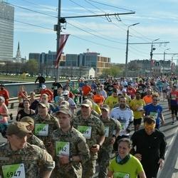 The 27th Lattelecom Riga Marathon - Aleksis Ozoliņš (6899), Ģirts Ločmelis (6947), Juris Spalva (6962), Matīss Brenneris (6964)