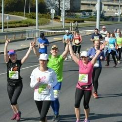 The 27th Lattelecom Riga Marathon - Karina Ciurliene (3905), Aija Zandberga (3948), Palmira Jonaitiene (4101)