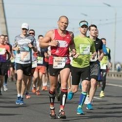 The 26th Lattelecom Riga Marathon - Tiina Perälä (397), Karina Baranovskaya (5407)