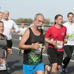 The 26th Lattelecom Riga Marathon - Arnis Buka (554), Dzintars Derkačs (1921), Juris Perunovs (2640)