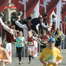 The 26th Lattelecom Riga Marathon - Heinz-Dieter Hovemann (2739), Lauris Veidemanis (3809)