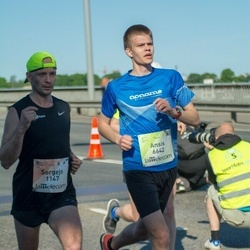 Lattelecom Riga Marathon - Sergejs Bogdanovs (1147), Ansis Poikāns (6642)