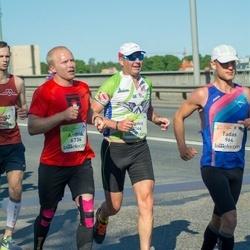 Lattelecom Riga Marathon - Dainis Žuburs (3144), Andris Orniņš (6734)