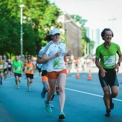 Lattelecom Riga Marathon - Jānis Mežiels (6559), Anastasia Ahremko (6662)
