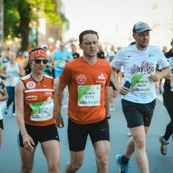 Lattelecom Riga Marathon - Erwin Mayerhofer (3173), Anita Mayerhofer (3174), Artūrs Sņegovičs (4423), Iveta Suvorova (6025)