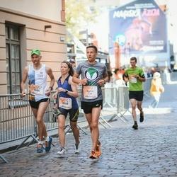 Lattelecom Riga Marathon - Agnis Murnieks (236), Matīss Vecvagaris (1954), Sigita Vāce (2068)