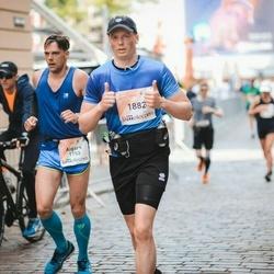 Lattelecom Riga Marathon - Aigars Bergs (1753), Mārtiņš Upītis (1882)