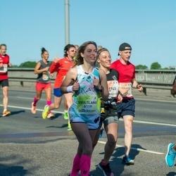 Lattelecom Riga Marathon - Inese Otomere (1945), Sviatlana Hryhoryeva (6119)