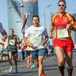 Lattelecom Riga Marathon - Gints Krieviņš (5142), Alvis Krilovskis (6466)