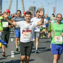 Lattelecom Riga Marathon - Alex Delori (847), Mareks Stumbris (1771)